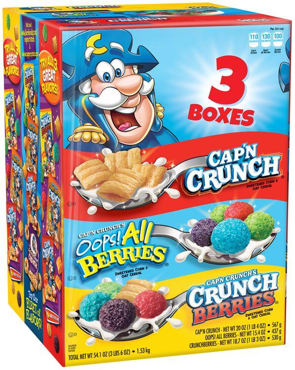 Cap'n Crunch® Variety Pack 3 ct Pack