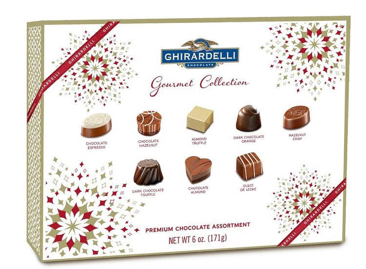 Ghirardelli Premium Chocolate Assortment Gourmet Collection Gift Box