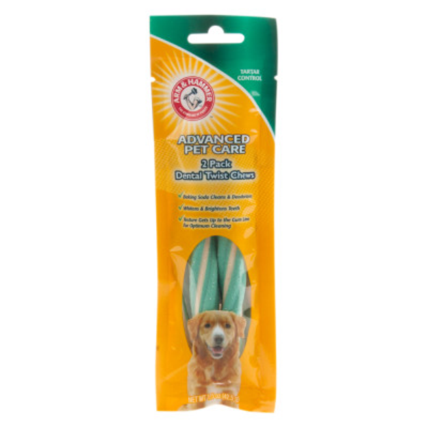 ARM & HAMMER™ Advanced Pet Care Tartar Control Dental Twist Dog Chew
