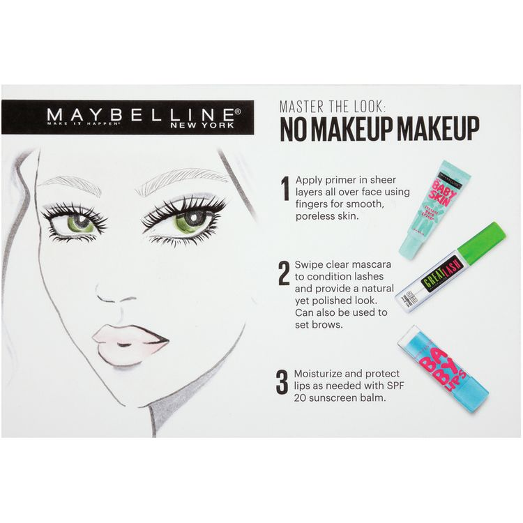 Maybelline® New York No Makeup Makeup Kit 3 pc