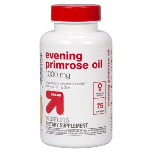 Evening Primrose Oil Dietary Supplement Softgels - 75ct - up & up™