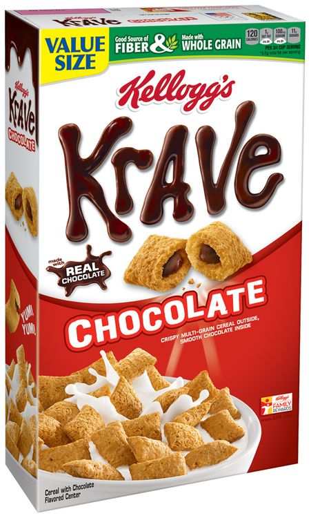 Kellogg's® Krave® Chocolate Cereal