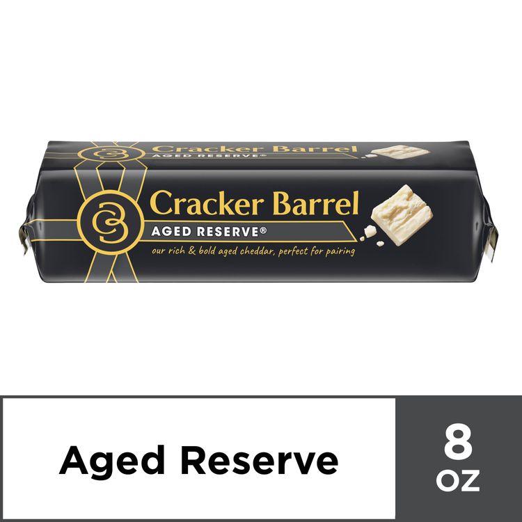 Cracker Barrel Aged Reserve Cheddar Cheese Chunk, 8 oz Wrapper