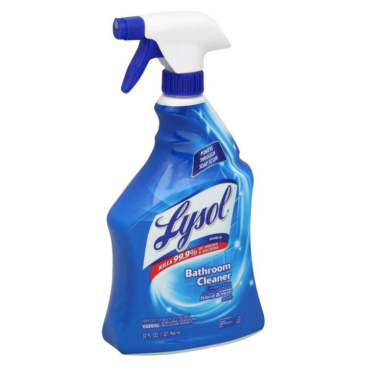 Lysol Island Breeze Bathroom Cleaner 32 oz