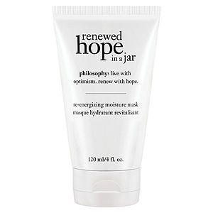 philosophy renewed hope in a jar re-energizing moisture mask, 4 oz