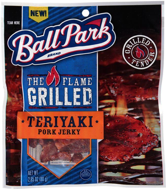 ball park® the flame grilled teriyaki pork jerky