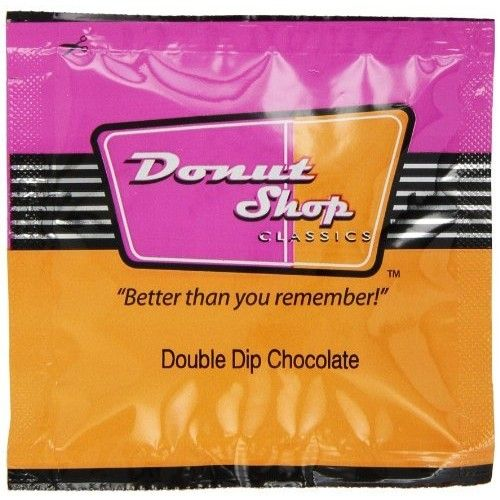 Donut Shop Double Dip Chocolate, Medium, 15-Single Serve Pods(Pack of 3)