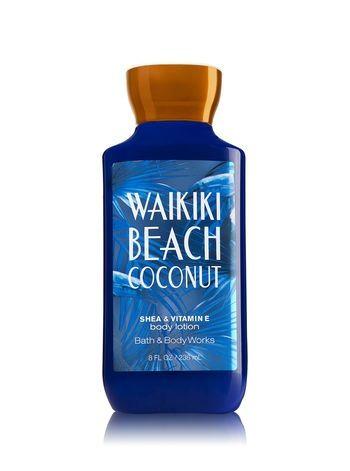 Bath & Body Works® Signature Collection WAIKIKI BEACH COCONUT Body Lotion