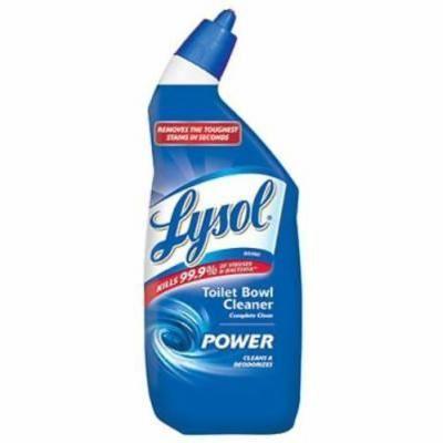Lysol 24 OZ Blue Toilet Bowl Cleaner Thick Formula 4PK