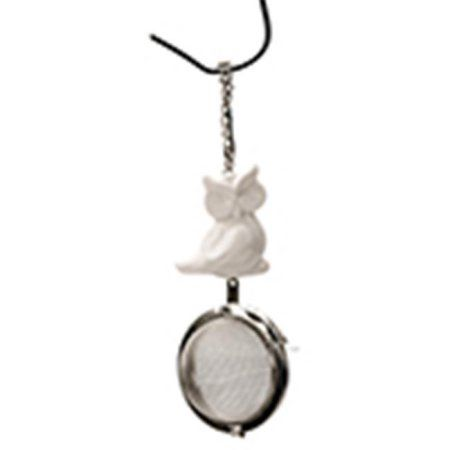 Frontier Natural Foods Frontier Natural Products 227877 Tea Infuser With Owl Charm