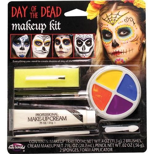 Day Of The Dead Character Kit Adult Halloween Accessory
