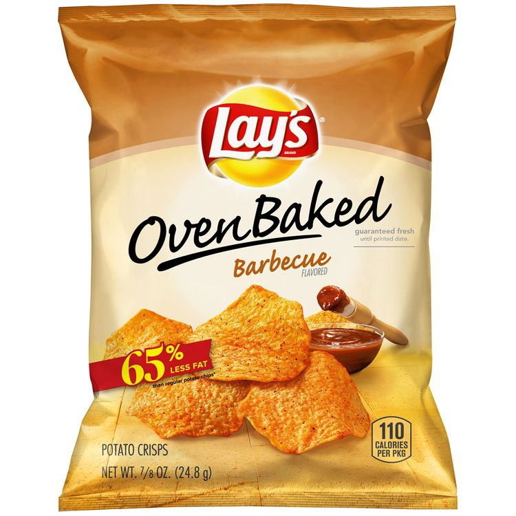 LAY'S® Oven Baked Barbecue Flavored Potato Crisps