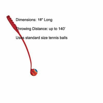 """The Chuckit! Ball Launcher is a Great Exercise Toy for Dogs That Love To Fetch !(Junior 18"""")"""