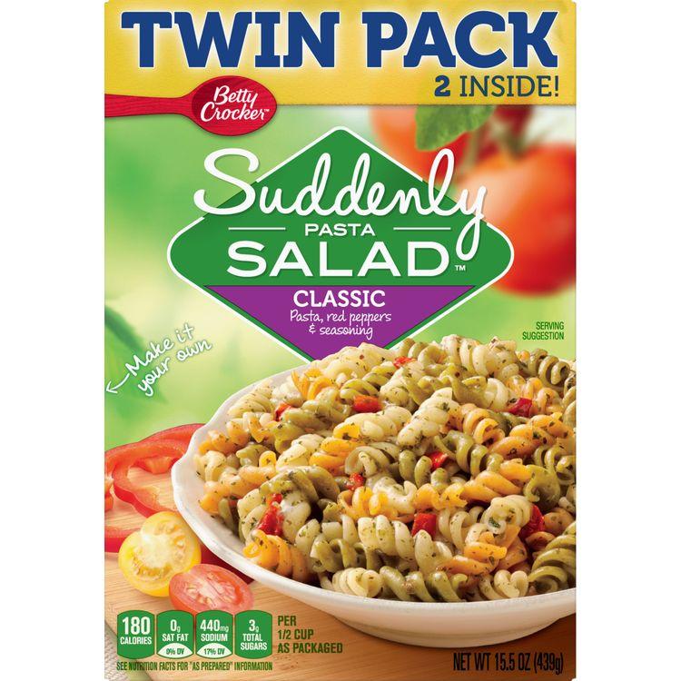 Betty Crocker Suddenly Pasta Salad Classic Pasta Salad, 15.5 oz