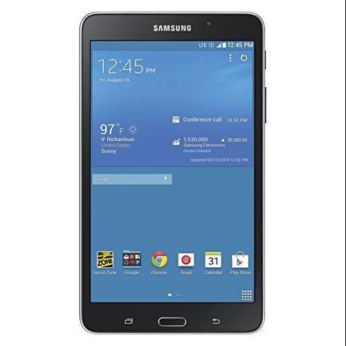 Samsung - Galaxy Tab 4 7.0 Wi-fi + 4g Lte - 16GB (sprint) - Black