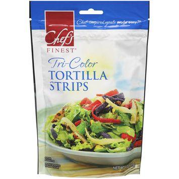 Placeholder Chef's Finest Tri-Color Tortilla Strips, 4 oz