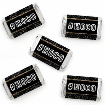 HOCO Dance - Mini Candy Bar Wrapper Stickers - Homecoming Small Favors - 40 Count