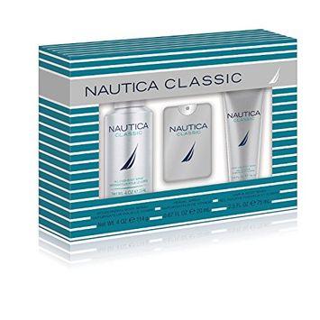 Nautica Classic Personal Care 3 Piece Gift Set