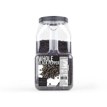 Hayllo Black Pepper Whole (Peppercorns) , 5.75 Pound