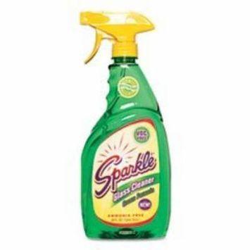 ** Green Formula Glass Cleaner, 26 oz. Trigger Spray Bottle **