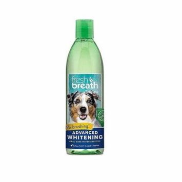 Fresh Breath for Dogs 16 oz Oral Water Additive Advanced Whitening Dental Care