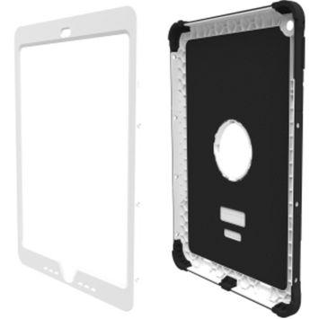 Trident Kraken A.M.S. Case for Apple iPad Air 2 - iPad Air 2 - White - Polycarbonate, Silicone, Thermoplastic Elastomer (TPE) - 48
