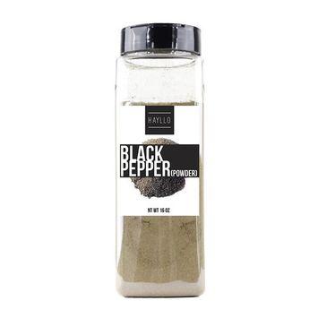 Hayllo Ground Black Pepper Powder (Dust,Fine Ground) , 1 Pound