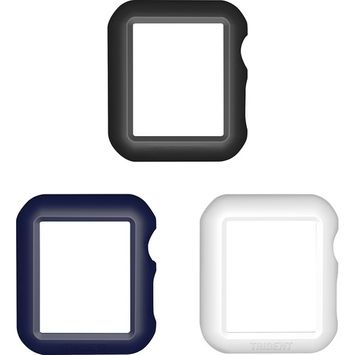 Trident Case - Odyssey Guards for Apple Watch™ 42mm (3-Pack) - Black/Midnight Blue/White