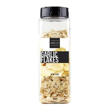 Hayllo Garlic Sliced Flakes, 12 Ounce [Garlic Flake]