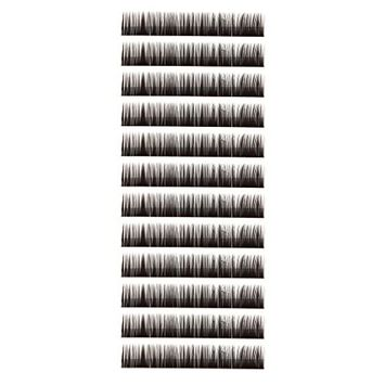 MagiDeal 0.10 B-curl Multi Size Makeup Lashes Eyelash Extensions - 8mm/10mm/12mm/14mm
