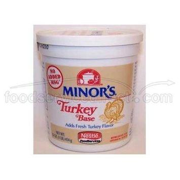 Nestle Minors No Added MSG Turkey Base, 1 Pound -- 6 per case.