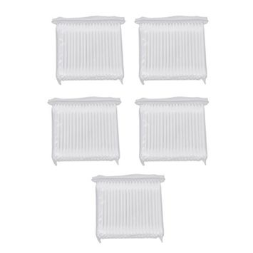 MagiDeal 500 Double Tip Makeup Cosmetic Remover Cotton Swabs Buds Eyelash Applicators