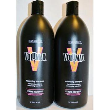Naturelle Volumax Volumizing Shampoo Extreme Body Boost 33.8oz (2 Pack)