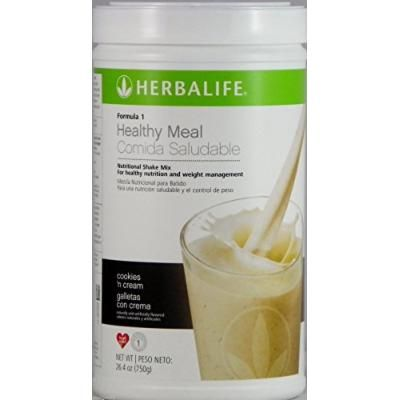 Formula 1 Healthy Meal Nutritional Shake Mix Cookies 'N Cream 750g Help Support Metabolism Weight Management, Cellular Growth Repair and Production.