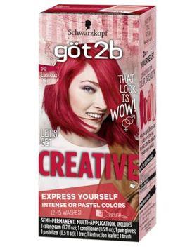 göt 2b Color Creative Semi Permanent Colour Cream 092 Luscious Red