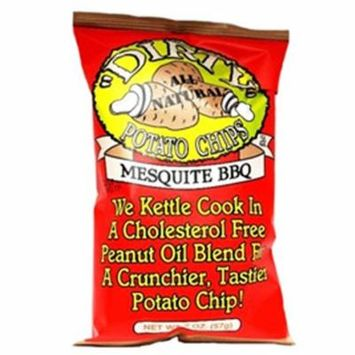 Dirty Mesquite BBQ Potato Chips 2 oz Bags - Pack of 25