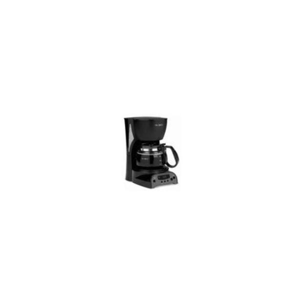 Mr. Coffee 4-Cup Digital Coffeemaker - Black