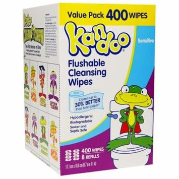 Kandoo Sensitive Toddler Wipes400.0 ea(pack of 2)