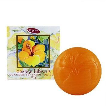 Kappus Luxury Soap Orange Hibiscus 125g 4.2oz