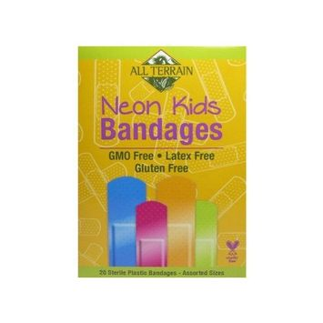 All Terrain Kid's Latex-Free Neon Bandages