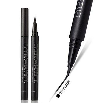 Binmer(TM) New Black Brown Waterproof Eyeliner Liquid Eye Liner Pen Pencil Makeup Beauty Cosmetic Accessories Thin Long Lasting