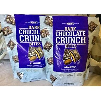 Nonni's Dark Chocolate Crunch Bites ALMOND 18 oz. (1 bag - 18 oz.)