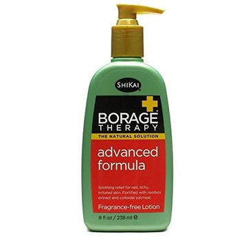 Shikai Borage Therapy Advanced Formula Lotion, Fragrance Free, 8 fl oz ( Multi-Pack) by SHIKAI PRODUCTS