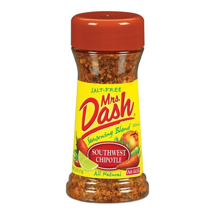Mrs. Dash Mrs Dash Southwest Chipotle Salt-Free Seasoning Blend, 2.5 Oz