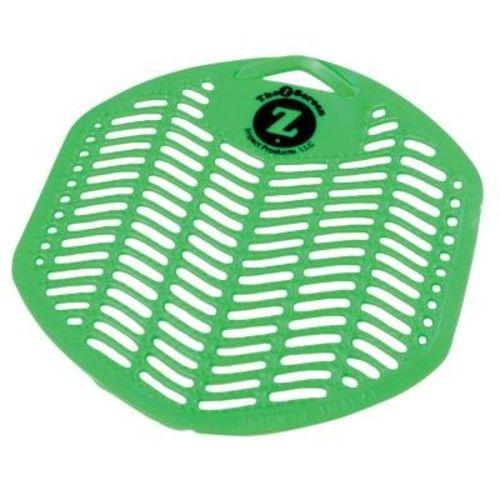 Genuine Joe Orchard Fragrance Green Urinal Screen Odor Neutralizer (12 Per Box)