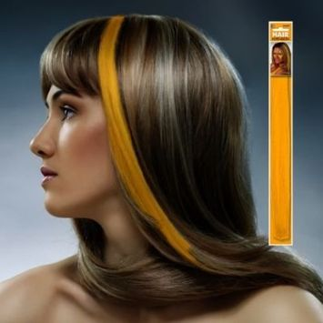 Amscan Hair Extension, Party Accessory, Yellow