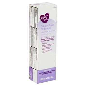 Parent's Choice Maximum Strength Diaper Rash Ointment, 4 oz