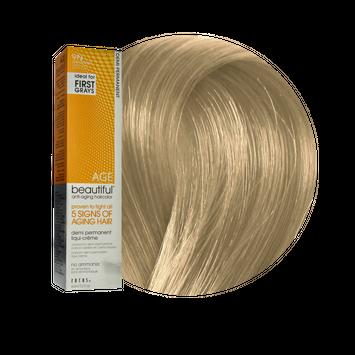 Zotos AGEbeautiful Anti-Aging Demi Permanent Liqui-Creme Haircolor 9N Light Blonde