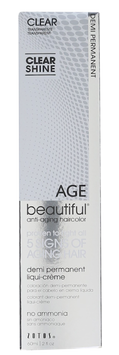 Zotos AGEbeautiful Anti-Aging Demi Permanent Liqui-Creme Haircolor Clear
