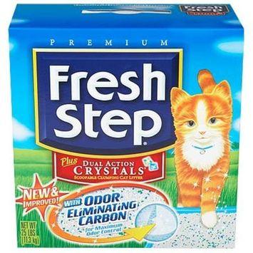petsupplies.com Fresh Step Plus Dual Action Crystals Cat Litter